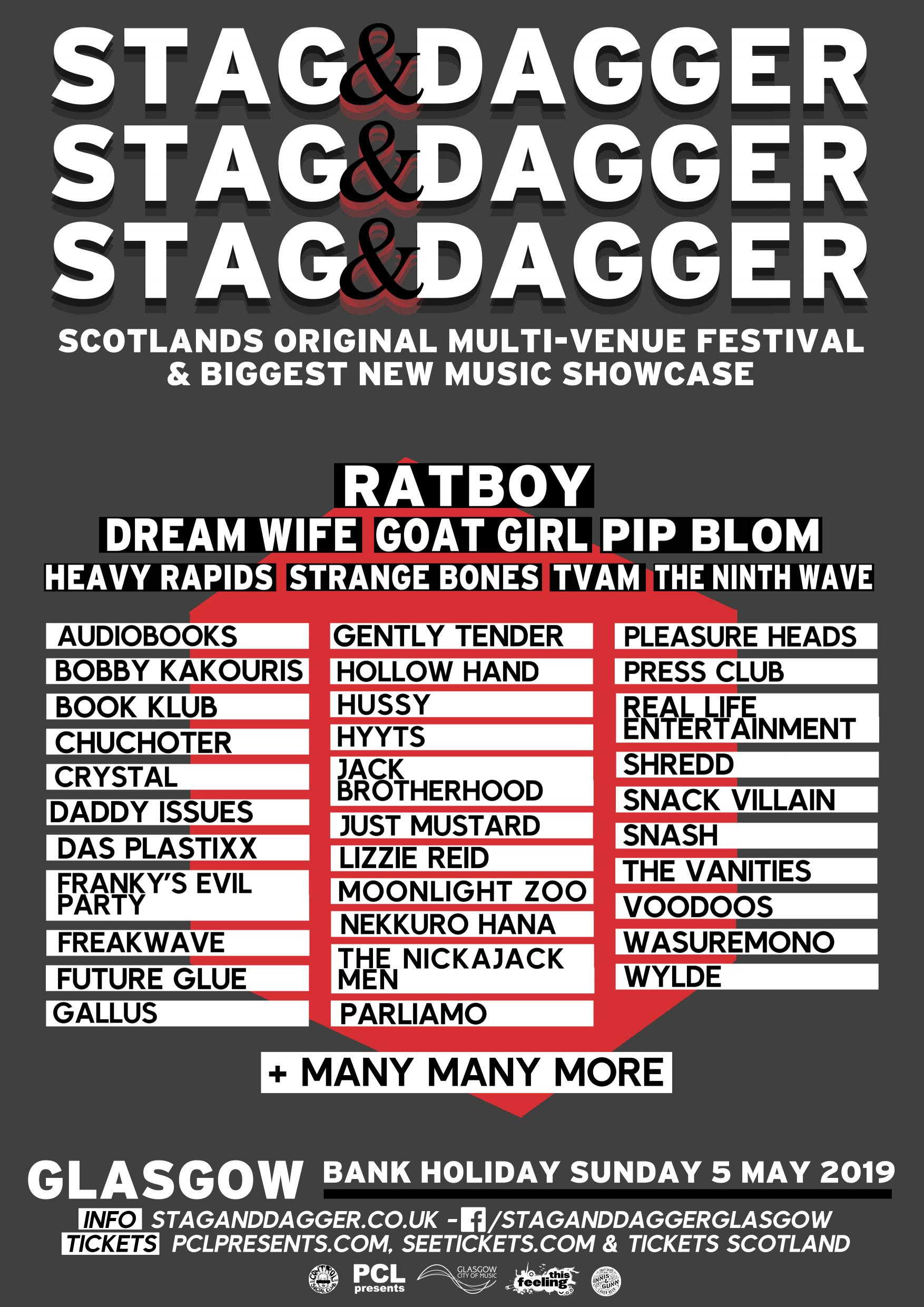 e3876f16d Stag & Dagger returns this May, 2019