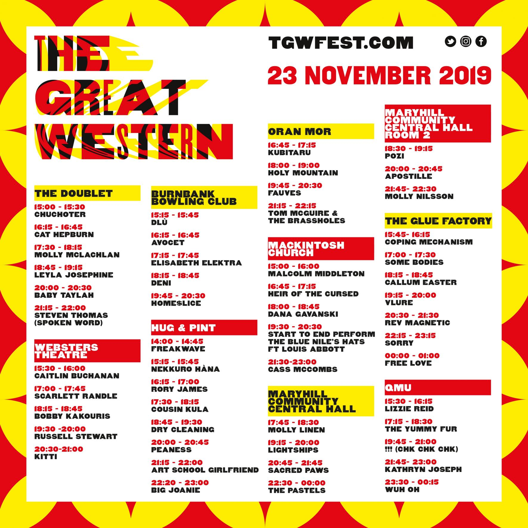 Great Western Festival - confirmed line up and what you need to know.